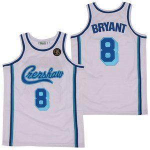 Los Angeles Lakers 8 Kobe Bryant White Jersey